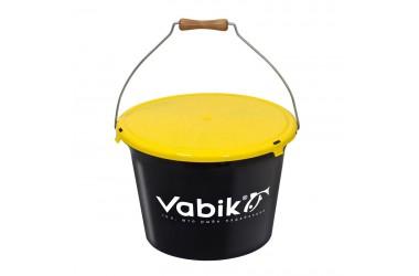 Ведро для прикормки VABIK Black 13л