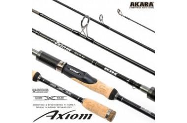 Спиннинг штекерный Akara Axiom M, уголь, (тест 6-28), 2.1 м