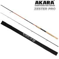 Cпиннинг штекерный Akara Zester Pro TX-20, уголь (тест 3-18), 2.1 м
