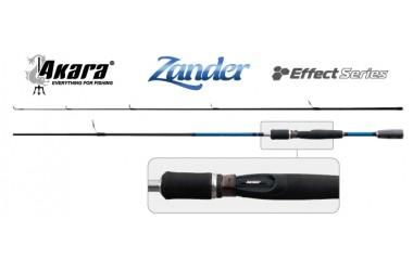 Cпиннинг штекерный Akara Effect Series Zander 3167 IM8, уголь, (тест 10-40), 2.1 м