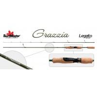 Cпиннинг штекерный S Master Legato Series Grazzia LC1246, уголь, (тест 1.75-9), 1.68 м