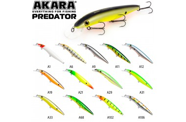 Воблер Akara Predator 100 F