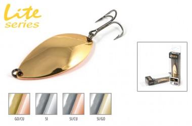 Блесна колеблющаяся Akara Lite Series A-8 4 см, 6.8 гр