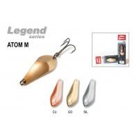 Блесна колеблющаяся Akara Legend Atom 7 см, 15 гр