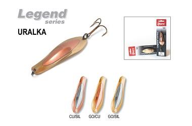 Блесна колеблющаяся Akara Legend Uralka со вставкой 9 см, 22 гр