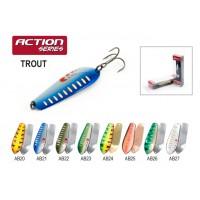 Блесна колеблющаяся Akara Action Series Trout 7.5 см, 20 гр