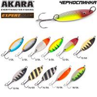Блесна колеблющаяся Akara Expert Черноспинка 65 мм, 15 гр