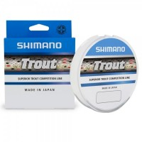 Леска монофильная Shimano Trout 150 м, прозрачная