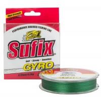 Леска плетеная Sufix GYRO Braid 135 м, зеленая