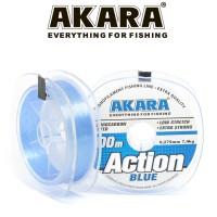 Леска Akara Action Blue 100 м, голубая