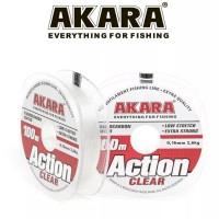 Леска Akara Action Clear 100 м, прозрачная
