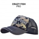 Кепка Crazy Fish Camo Zander Pro (Olive) М