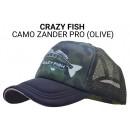 Кепка Crazy Fish Camo Zander Pro