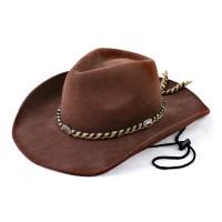 Шляпа Ковбойская с косичкой