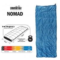Спальник Comfortika Nomad L, 190x80x80 см. с подголовником,  +15C/-5C