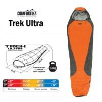 Спальник Comfortika Trek Ultra, 220x75x45 см с подголовником, +10C/-10C