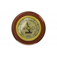 Барометр Akara деревянная оправа 70 мм