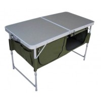Стол складной с отделом под посуду (HS-TA-519) Helios