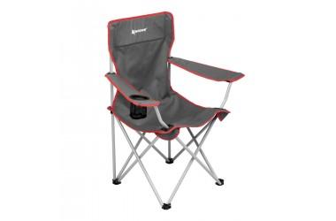 Кресло складное серый/красный (N-96806H-GR) NISUS