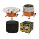 Газовая портативная плита-трансформер Tulpan-S ТМ-400 малая (с ветрозащитой)