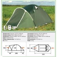 Палатка COMFORTIKA Pamir 2