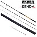 Удилище штекерное угольное фидерное 3 колена Akara Renda Feeder TX-20, (тест 40-80-120 гр.), 3.6 м