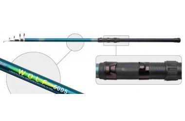 Удилище телескопическое Akara Wolf, стеклопластик, (тест 50-80 гр.), 7 м