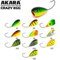 Воблер Akara Crazy Egg 55F