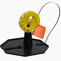 Жерлица зимняя на подставке ЖЗ-04 (d-185 мм, катушка d-65 мм) Тонар