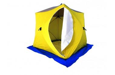 Палатка зимняя Стэк Куб 3 (дышащая, 3 слоя)