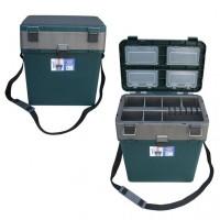Ящик зимний зеленый Hellios (19 л)